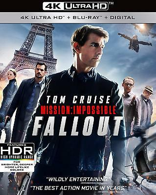 Mission Impossible Fallout Blu-Ray Disk Only FREE SHIPPING