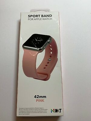 NEXT Sport Band Watch Strap for Apple Watch® 42mm Pink #sportb42