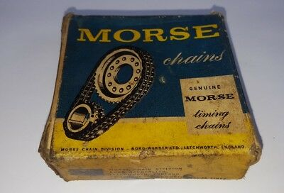 Morse genuine timing chain vintage classic car parts collectable boxed 1930-50s