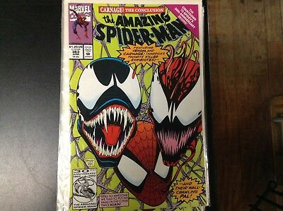 The Amazing Spider-Man #363 (Jun 1992, Marvel) Venom & Carnage