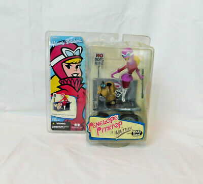 Hanna-Barbera Penelope Pitstop Muttley Figure Series 2 Toys NIP Sealed McFarlane