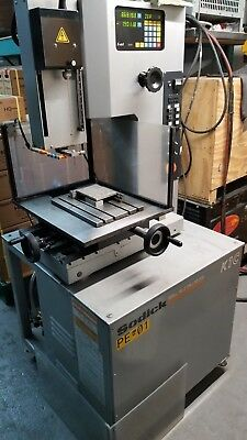 Sodick 27-NC and 30NC Operations /& Wiring Manual EDM Machine Center