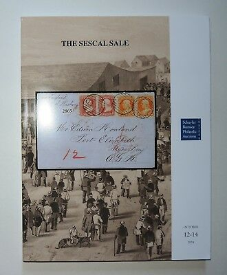 Schuyler Rumsey Auction Catalog Sescal Sale Stamps Covers Postal History 2018
