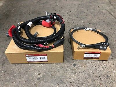 Motorcraft Negative Battery Cable Front Passenger Side RH RF for Ford Super Duty