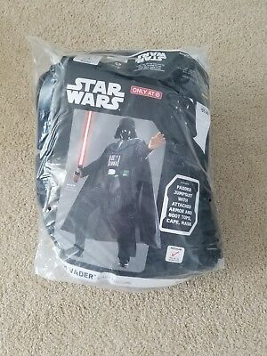Star Wars Darth Vader Halloween Costume w/ Mask Adult Mens Size Medium M - NEW!