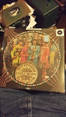 "The Beatles ""Sgt Peppers Lonely Hearts Club Band"" 1978 Rock LP ""Still Sealed"""