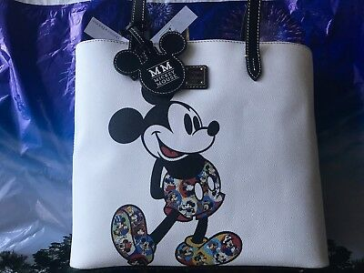 2019 Disney Parks Mickey Mouse Through The Years Tote Bag by Dooney & Bourke