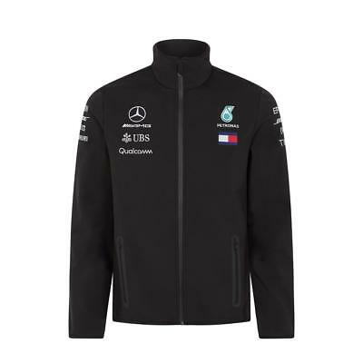 2018 Mercedes AMG F1 Team Lewis Hamilton SOFTSHELL Jacket Coat Mens *SALE*