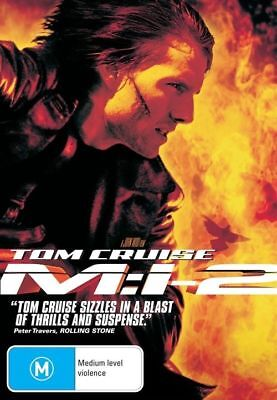 M:I 2 Mission Impossible Tom Cruise  Region 4 DVD VG - EX Condition