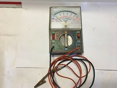 Vintage Calrad Multitester Model 65 50.000 OHMS Per Volt Japan