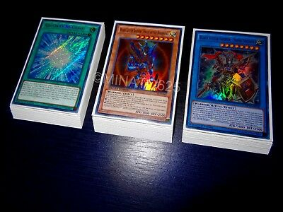 Yugioh Complete Black Luster Soldier Deck + Ultra Pro Sleeves! Tournament Ready!