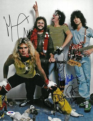Eddie Van Halen David Lee Roth REPRINT RP Autographed Autograph Signed PHOTO