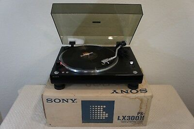 Sony Ps-Lx300H Stereo Turntable In Original Shipping Box