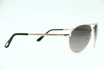 a0556ebfd4 Tom Ford Marko Tf 144 28D Rose Gold Polarized Authentic Frame Sunglasses  58-13