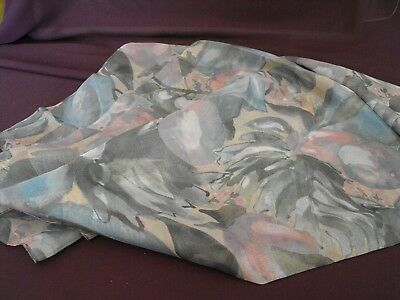 1980's Vintage Italian made Scarf from Tie Rack