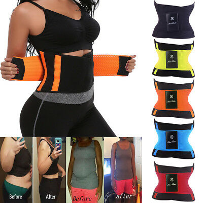 Fajas Reductoras Slimming Body Shaper Girdle Abdomen Sauna Cincher Sweat Belt