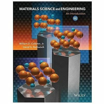 Materials Science and Engineering: An Introduction PDF 9th Edition William D. Jr