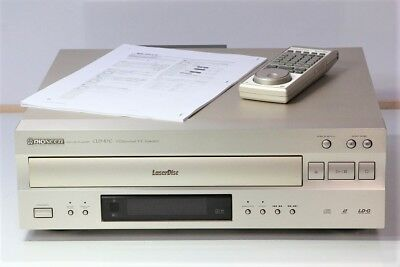 Pioneer CLD - R 7 G CD  LD Compatible Player Audio Player System Sound Music