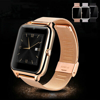 Bluetooth Smart Watch Sports Casual Calorie Counter For Android iOS Sony Phones