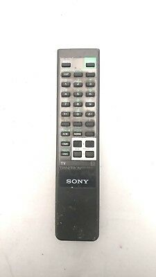 Sony Trinitron Genuine Oem Tv Remote M/n: Rm-687Ct