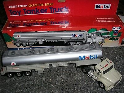 Mobil Oil Corp. Limited Edition Collectors Series Toy Tanker Truck 1993