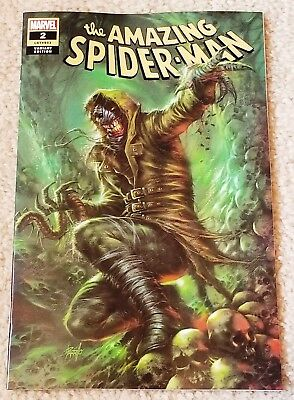 Amazing Spider-Man 2 Lgy 803 Lucio Parrillo Logo Variant New Villain First Cover
