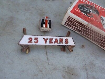 International harvester Badges  Service Years