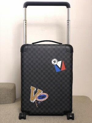 RARE HTF Authentic LOUIS VUITTON LV League Horizon 55 Rolling Luggage Travel  Bag b00892ee7a352