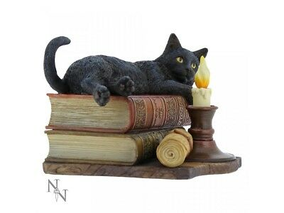 The Witching Heures Chat Noir Figurine par Lisa Parker Statue Gothique' Décor