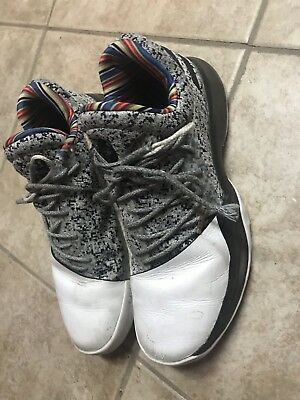 04414738b0a ADIDAS HARDEN VOL 1 BHM Black History Month Arthur Ashe BY3437 RARE ...