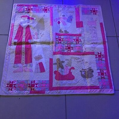 handmade quilt, throw or table centre a Natalie Bird pattern