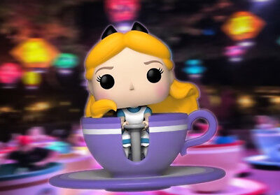 Disney Exclusive Funko Pop Theme Park Release Alice at the Mad Tea Party