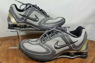 32dd22ac1f8 Nike Shox NZ RNG Gray Silver Black Mens Running Shoes Size 10.5 314181-001  2005