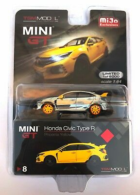 Mini GT 1/64 2017 Honda Civic Type R FK8 LHD Diecast Model Chase Car MGT00008