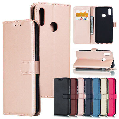 For Huawei P Smart 2019/Honor 10 Lite Magnetic Flip PU Leather Stand Case Cover