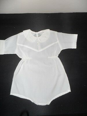 4 different outfits Vintage christening baptism