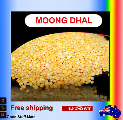 Au seller ORGANIC Moong Dhall PURE NATURAL Dal Premium Gurmet Quality Dhal Washe
