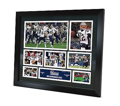 Tom Brady Signed 2015 New England Patriots photo Memorabilia Limited Edition