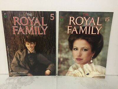 The Royal Family. Volume 1 Issue 5 + Volume 2 Issue 15. Orbis Publishing 1984.