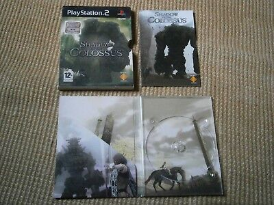 Box & manual for Shadow of the Colossus on PS2 No game Fast dispatch 1st class