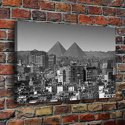 Egypt Pyramids Poster HD Canvas Print Painting Home Decor Wall Art Picture 20208