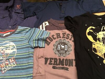 5 X Assorted Size 5 Boys Tees / Shirt
