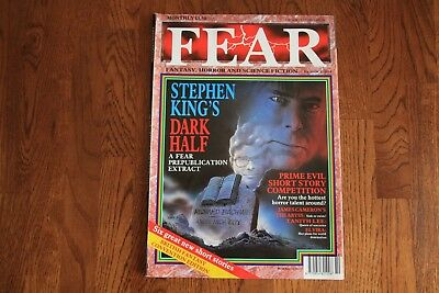 Fear Magazine no 10 October 1989, used