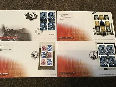 Railway First Day Covers Fdc Special Postmark Trains Railway Covers