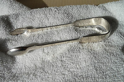 Antique Victorian HM Sterling Silver Sugar Tongs London 1873-74 James Wintle