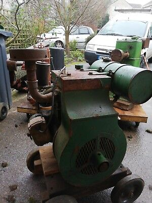 Wolseley Air-cooled Stationary Engine
