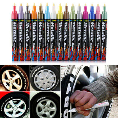 Rubber Permanent Tyre Wood Glass Oil Pen Creative Marker Paint Tyre Marker