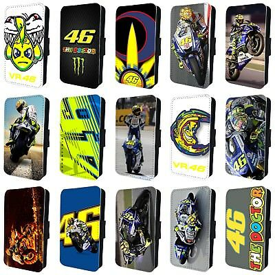 VALENTINO ROSSI MOTO GP 46 DOCTOR FLIP PHONE CASE COVER for iPHONE 4 5 6 7 8 X