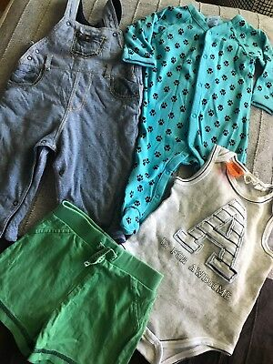 Baby Boys Clothes Mixed Lot Sz 00 Mothercare Target Pumpkin Patch