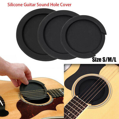 Guitar Parts Buffer Block Silicone Acoustic Feedback buster Sound Hole Cover
